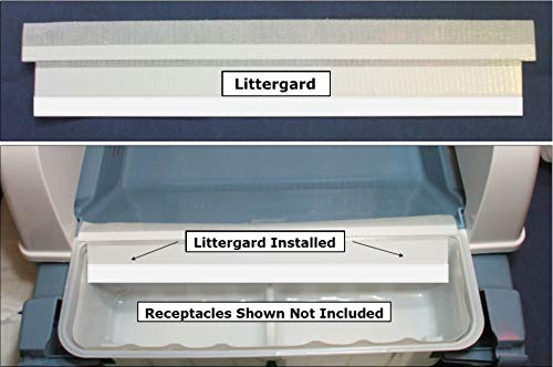 Felineasy Littergard - Eliminates Litter & Waste Under Littermaid Receptacle Junction.