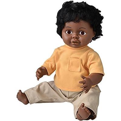 """16"""" Multi-Ethnic Doll- Black Boy"""
