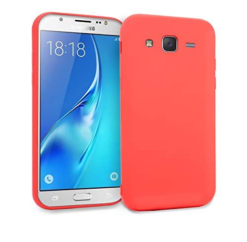 MyGadget Funda Slim para Samsung Galaxy J5 [2016] en Silicona TPU - Anti Rasguños - Carcasa Protectora Ultra Delgada [ 1,2 mm ] cómoda - Rosado
