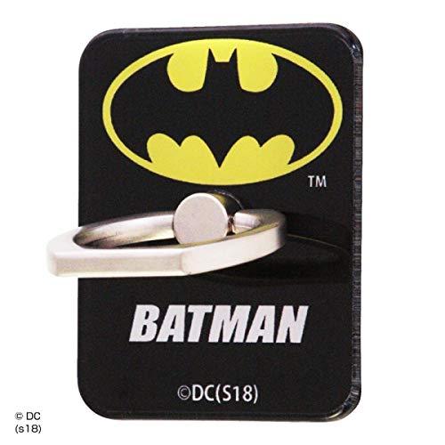 バットマン/スマートフォン用 リング 【スタンド になる】 動画視聴 落下防止 リング アクリル/バットマン/ロゴ