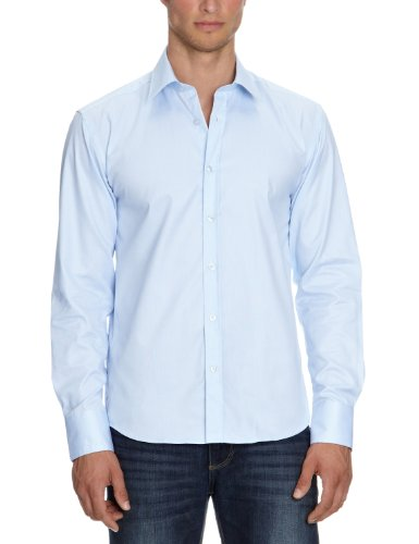 Selected Homme - Chemise - Homme - Bleu (Light Blue) - FR : Large (Taille fabricant : Large)