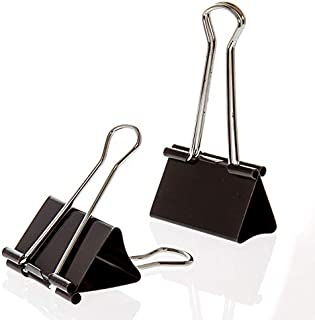 Office Depot Binder Clips, Large, 2in, Box of 36 Clips