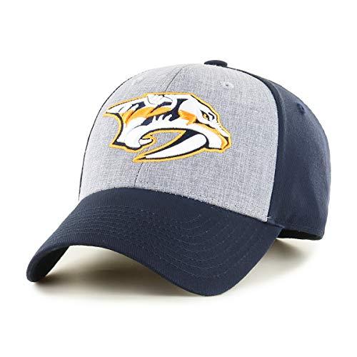 OTS NHL Nashville Predators Men's Essential All-Star Adjustable Hat, Team Color, One Size