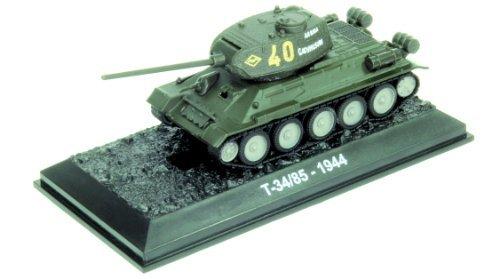 T-34/85 - 1944 diecast 1:72 tank model (Amercom BG-30)