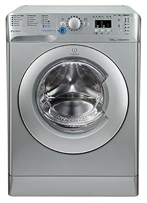 Indesit Innex BWA81483XS A+++ 8kg 1400 Spin Washing Machine in Silver