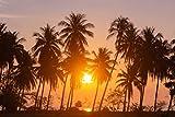 Poster Plakat Sonnenuntergang Hawaii M163 hochwertiger