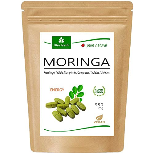 MoriVeda® - 120 Moringa Energia compresse 950mg o...