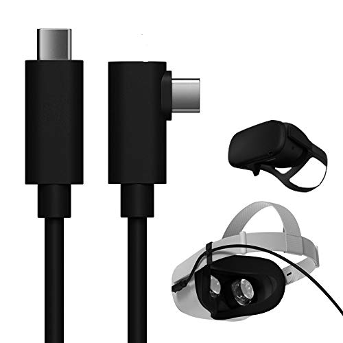 USB C to USB C 3.0 Cable 10ft, TNE Link Cable for Oculus Quest 2/Quest and Replacement Charger Cable | High Speed Data Transfer & Fast Charging Power Cord for Quest 2/Quest on Gaming PC (10ft/3m)