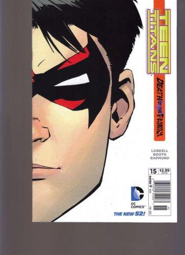 DC Teenen Titans #15 Banco de Notícias Edição Variante Morte da Família