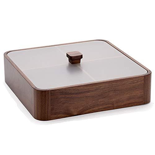 NCBH Salon-box voor gedroogde vruchten, retro snack-organizer voor levensmiddelen, containers, voor koekjes, noten, snoep, enz.