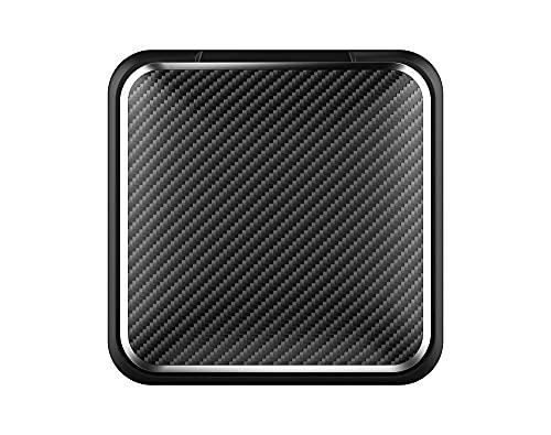 soporte para movil para coche Tablero de teléfono de fibra de carbono Tablero de tablero de instrumentos Universal de 3 a 7 pulgadas Soporte de montaje de clip de teléfono móvil compatible con iPhone
