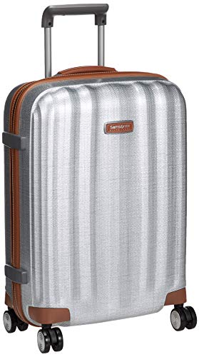 [サムソナイト ブラック レーベル] スーツケース キャリーケース ライトキューブ デラックス スピナー 55/20 国内正規品 機内持ち込み可 保証付 55 cm 2.3kg アルミニウム