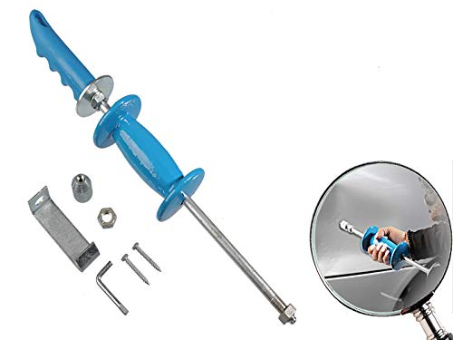 5-teiliger Satz Doppelfunktions - Ausbeulhammer Gleithammer mit Stahlstiel