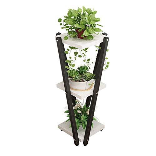 Blumenständer Blume Stehen, mehrschichtige Indoor Wohnzimmer Topf Rack Mode Kombination Blume Stehen kreative Blume Regal Ecke Blume Stehen seitentisch lagerung Regal