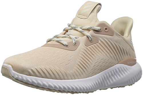 adidas Performance Women's Alphabounce 1 w, Linen/Off White/Ash Pearl, 11 M US
