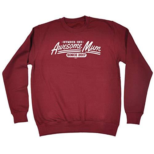 funny novelty sweatshirt 2017 awesome