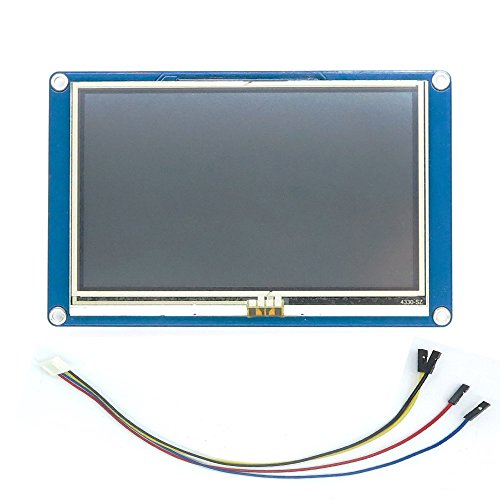 Unikel Nextion HMI Smart LCD-Display, Module TFT, Touch-Panel für ESP8266 4.3''