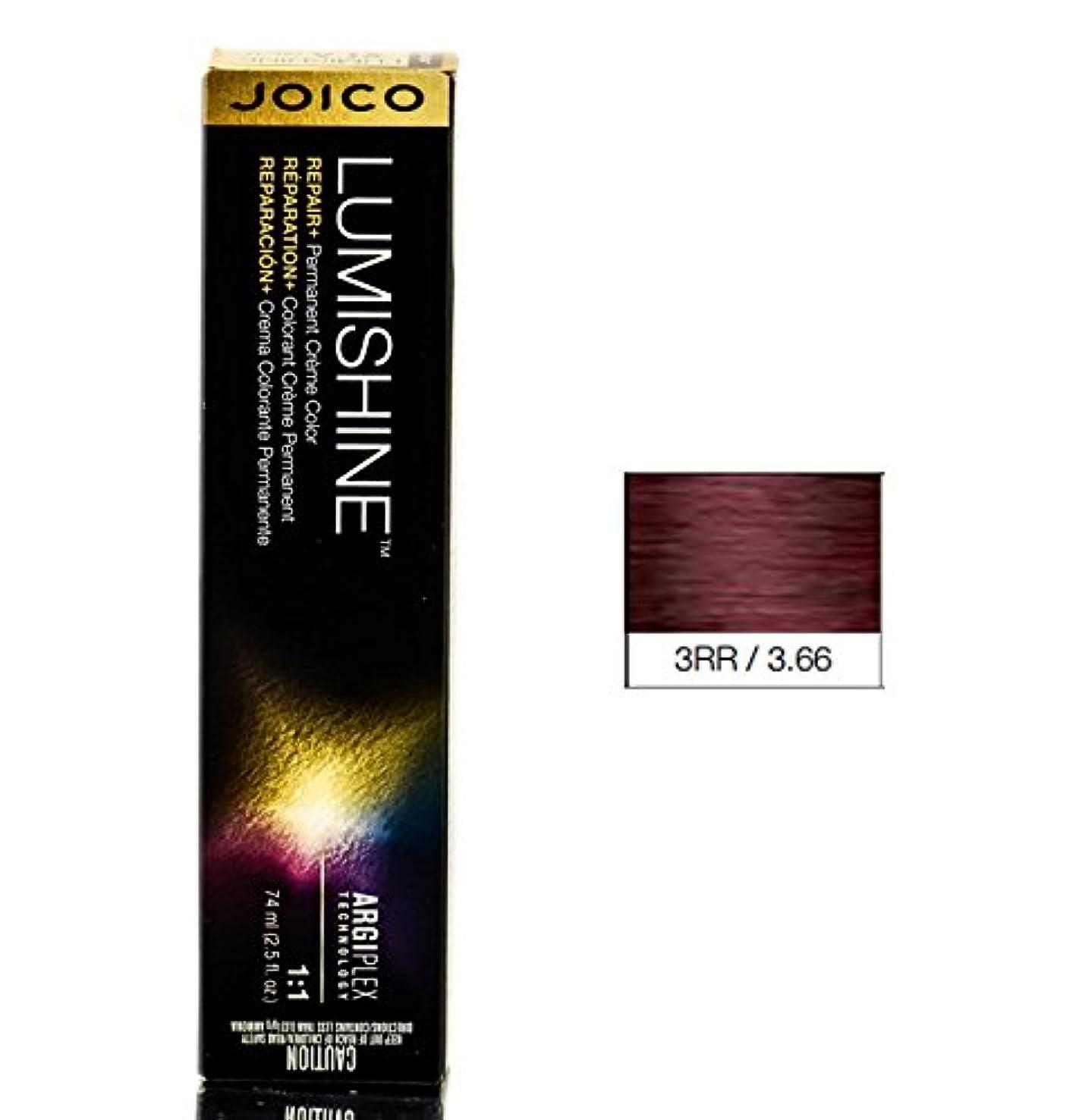 フック細心の明確にJoico Lumishine永久クリーム色、3RR / 3.66、 2.5オンス