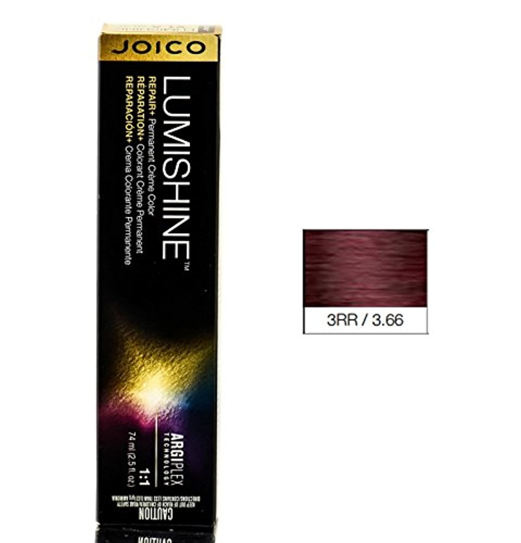 Joico Lumishine永久クリーム色、3RR / 3.66、 2.5オンス