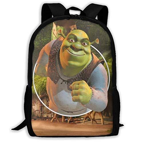 Ahdyr Backpack Cartoon Shrek Backpack Travel Laptop Bookbag Capacity Lightweight Stationery Purse Bag