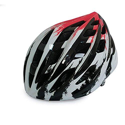 Zhangbangqiangshop Peso Ultra Ligero: Casco de Bicicleta Profesional, Casco Deportivo Ajustable Cascos...