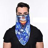 Outdoor Sport 3D Skull Masks Ski Balaclava Dustproof Windbreak Headgear Cycling Scarf Airsoft