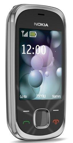 Nokia 7230Grafito teléfono móvil en Vodafone PAYG