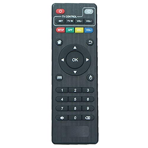 AEISVIK Original Replacement Remote Control Controller for Android TV Box MXQ, MXQ Pro, MXQ-4K, X96, X96W, X96 Mini, X96 Q, T95 Mini, T95H, T95M, T95N, V88, R69, Q+, HK1, X10, MX10