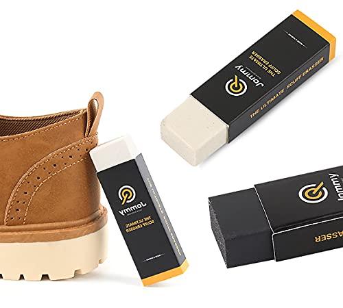 N / Limpiador de zapatos y botas de nobuk cuero y ante. Set de 2 Gomas de borrar. Kit para limpieza de Zapatillas de Deporte, nobuck, Ante, Piel, Cuero. Quita manchas y suciedad.