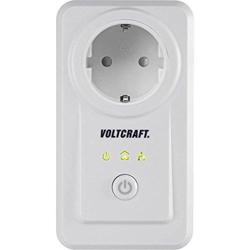 VOLTCRAFT PLC3000 DE Energiekosten-Messgerät Powerline, mit App-Steuerung, Alarmfunktion, Datenexport, grafische Darstel