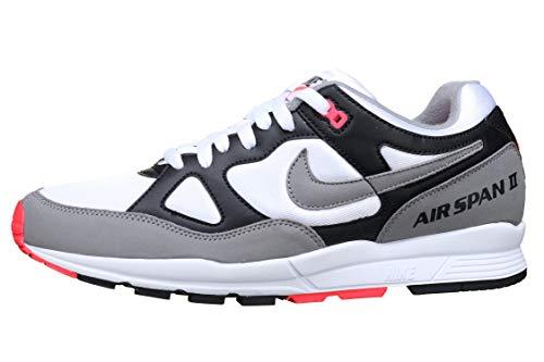 Nike Herren AH8047-005 Wanderschuh, Negro Polvo Solar Red Blanco, 44.5 EU