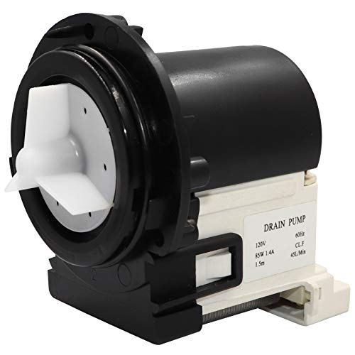 4681EA2001T Washer Drain Pump Motor Compatible with LG and Kenmore Washers - Replaces 4681EA1007G, 4681EA2001N, AP5328388, 2003273, 4681EA1007D and More, Figure 7 is Fit model.