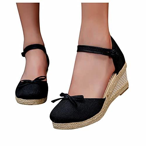 WINTOM Sandali Tacco Rosa Ciabatte Con Pelo Shoes Women Dressy Pantofole Donna Chiuse Dietro Scarpe...