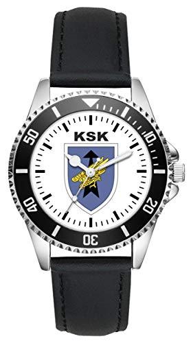 Soldat Geschenk Bundeswehr Artikel KSK Wappen Uhr L-1130
