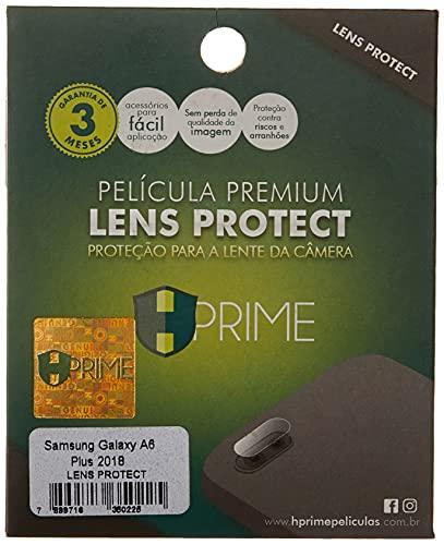 Pelicula para Camera LensProtect para Samsung Galaxy A6 Plus 2018, HPrime, Película Protetora de Tela para Celular, Transparente