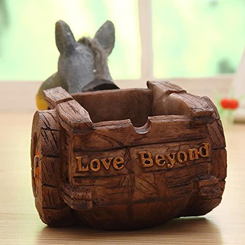 Donkey - Caja de almacenamiento para decoración del día del padre, cumpleaños, Navidad, muebles de oficina, accesorios para el hogar