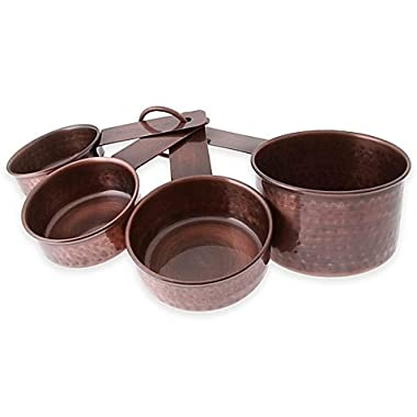 Thirstystone Antique Copper Finish Measuring Cups (set of 4)