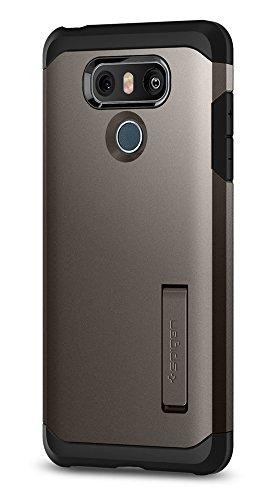 Spigen Tough Armor Designed for LG G6 Case (2017) / LG G6 Plus Case (2017) - Gunmetal
