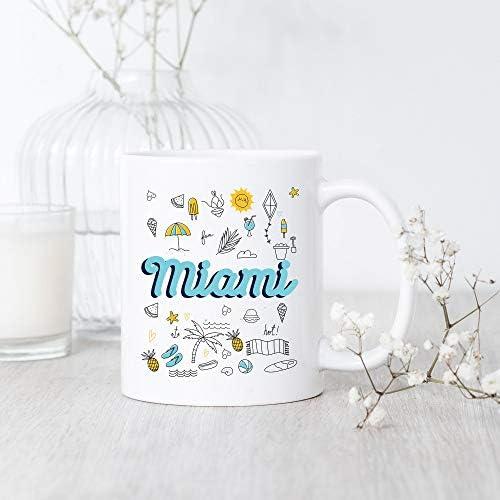 DKISEE Miami Coffee Mug Miami Mug Miami Pride Mug Miami Coffee Mug Miami Travel Mug Miami Lover product image