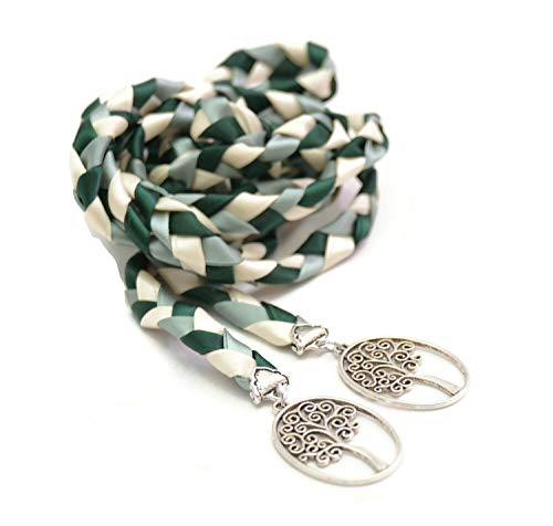 Forest Sage Tree of Life Wedding Handfasting Cord #Wedding #WeddingCeremony #DivinityBraid #Celtic #Handfasting #HandfastingCord #CelticWedding #CelticKnot