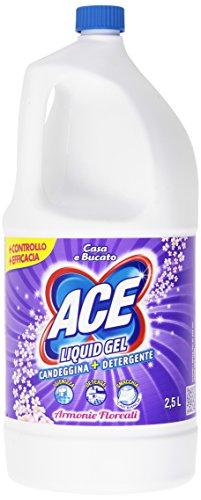 ACE - Candeggina + Detergente, Liquid Gel, Armonie Floreali - 2500 ml