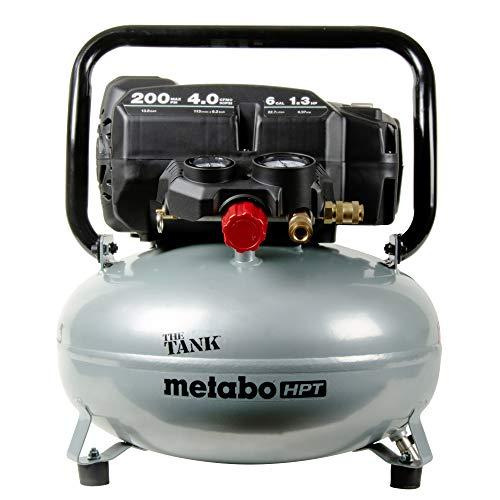 Metabo HPT EC914SM THE TANK 1.3 HP 6 Gallon Portable Pancake Air Compressor