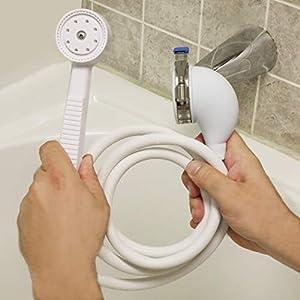 Danco 10086 VersaSpray Handheld Shower, White