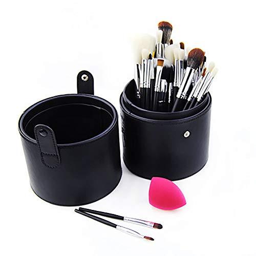 Maquillage Pinceaux, Ensembles De Pinceaux De Maquillage Professionnel 33Pcs Pour L'artiste De Maquillage Cosmétiques Pour La Fondation Kabuki Fard À Joues Blending Fard À Paupières Correcteur,Noir