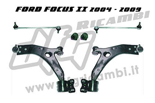 Kit suspension avant TRW JTC1244 - JTC1245 - JTS490-4831
