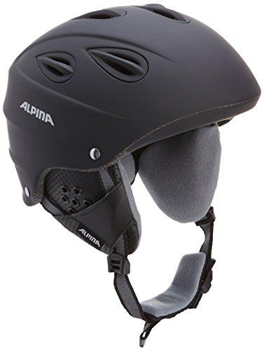 Alpina Skihelm Grap, black matt, 61-64, 9036433