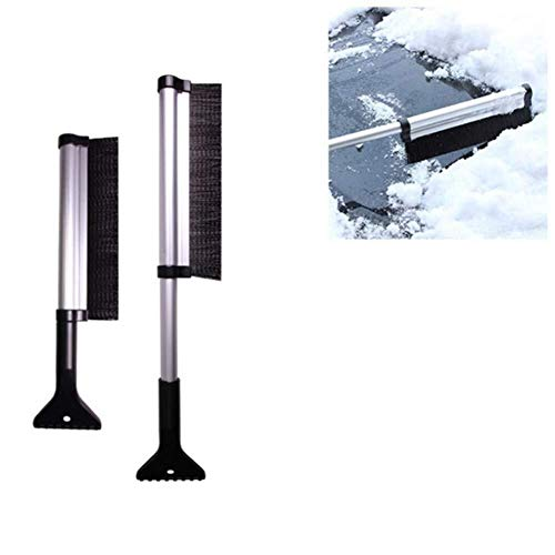 Buy BAOYUAN668 Rapid Washing Car Snow Shovel Retractable Snow Brush ice Scraper car deicer Electrost...