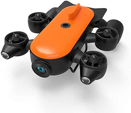 SSeir Robot Drone Sottomarino Professionale con Telecomando per Fotocamera Azione 4K UHD Tempo remoto Rilevamento subacqueo in Tempo Reale per la visualizzazione