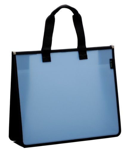 山口工業 ファイル キャリングケース ブルー B4 対応 G503-BL