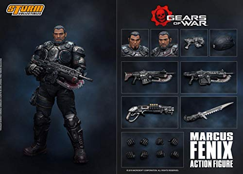 Storm Collectibles 1/12 Marcus Fenix Gears of War